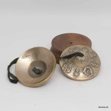 cymbale tibétain symbole auspicieux