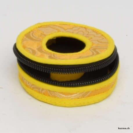 acheter boite de rangement pour tingsha de couleur jaune