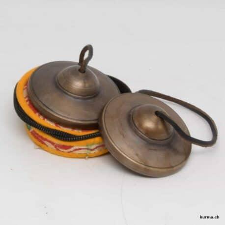 ting-sha tibétaine et pochette de rangement