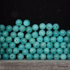 perles amazonite du pérou