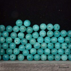 Amazonite perles