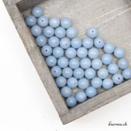 Perles Angélite