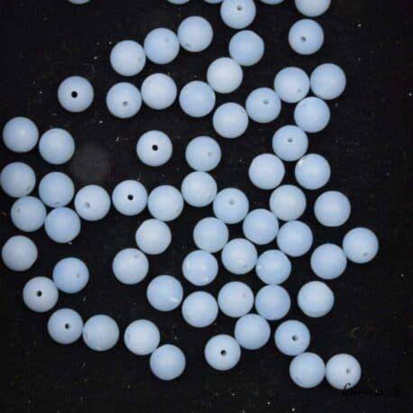 Perles Angélite 6mm