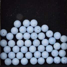 Perles en Angélite