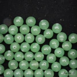 Perles aventurine verte 8mm