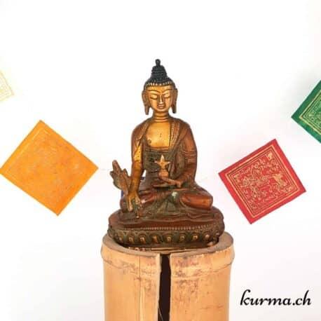 Statuette bouddha médecine