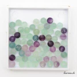 fluorite multicolore 6mm