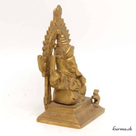 Ganesh statue en bronze indienne