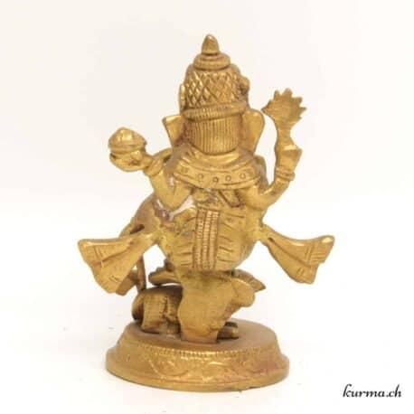 statuette de ganesh en bronze provenant d'Inde