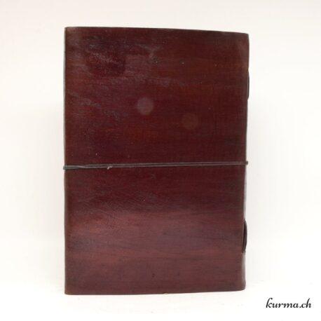Carnet à dessin de poche en cuir