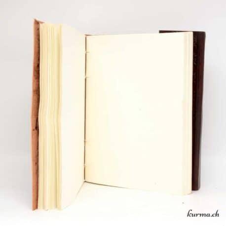 acheter un Livre de poche en cuir du rajasthan avec kurma