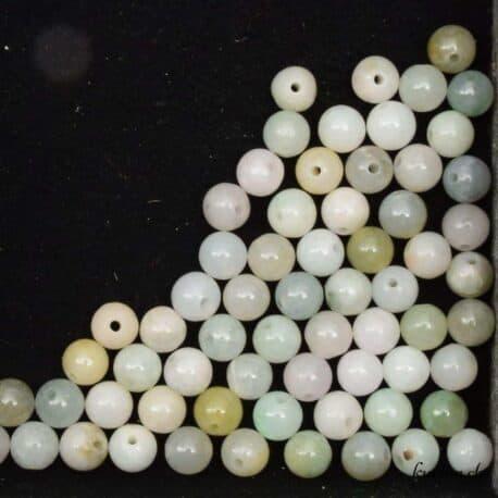 Perles en Jade