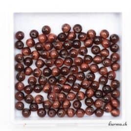 Perles Oeil de boeuf 4mm