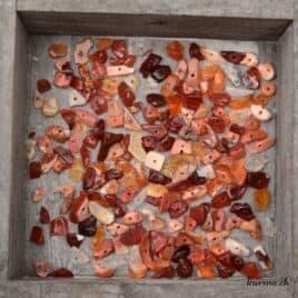 Perles opale de feu