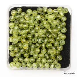 Perles péridot