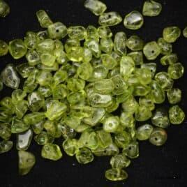 Perles olivine