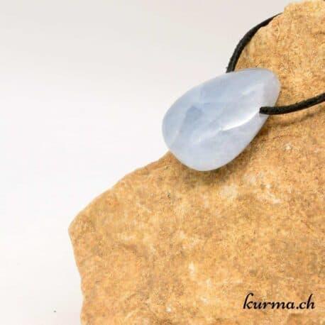 vente collier de calcite bleu