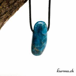 Apatite bleue pendentif