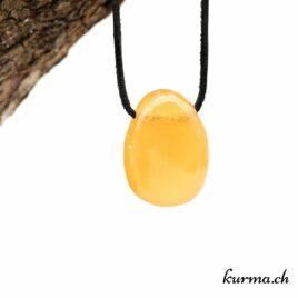 Calcite orange collier