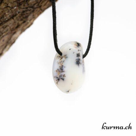 Opale dendritique pendentif