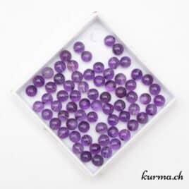 perles améthyste pour bracelet