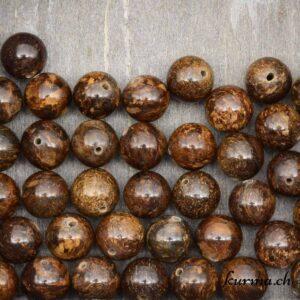Bronzite perles