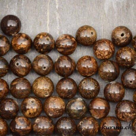Perles en Bronzite 10mm