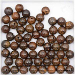 Acheter perles en Bronzite 6mm