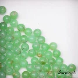 Perles Chrysoprase 8mm