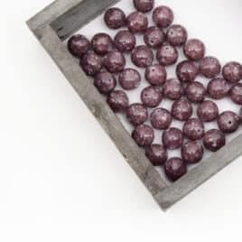 vente de perles lépiodlite 10mm