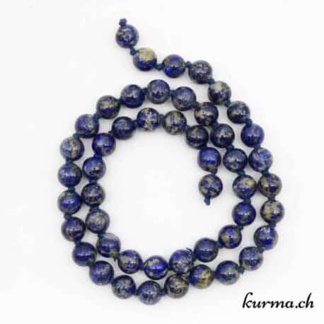Rang de Perles Lapis-Lazuli 8mm