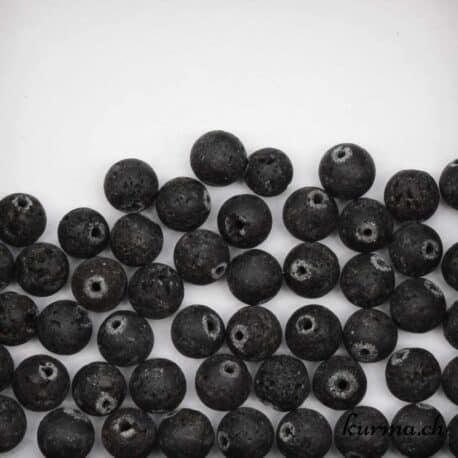 Perles lave 8mm