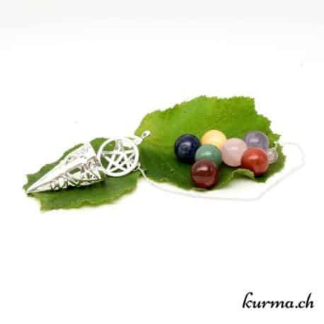 Acheter un pendule 7 chakra dans la boutique en ligne Kûrma