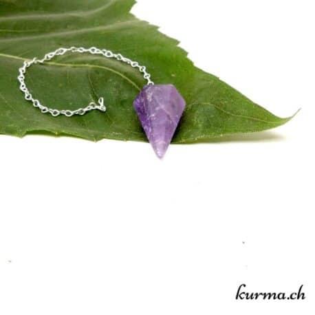 acheter un Pendule en Améthyste hexagone dans la boutique en ligne Kûrma