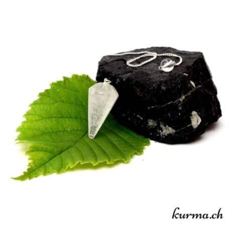 vente de Pendule en cristal de roche cône