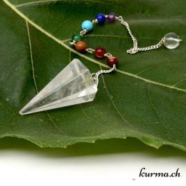Pendule cristal 7 chakra