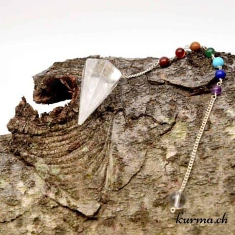 acheter Pendule pour radiesthésie en cristal de roche