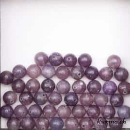 Perles en Lépidolite