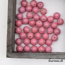 Perles rhodonite 10mm