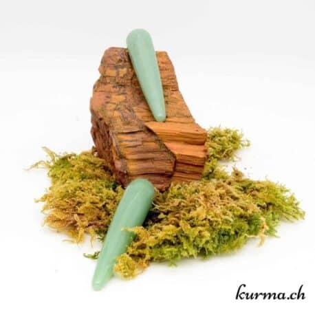 Bâton de massage Aventurine verte