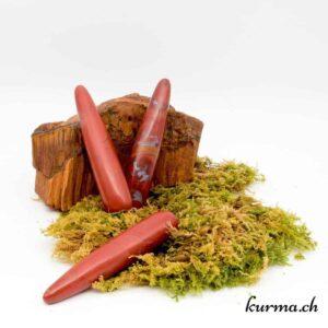 Bâton de massage Jaspe rouge