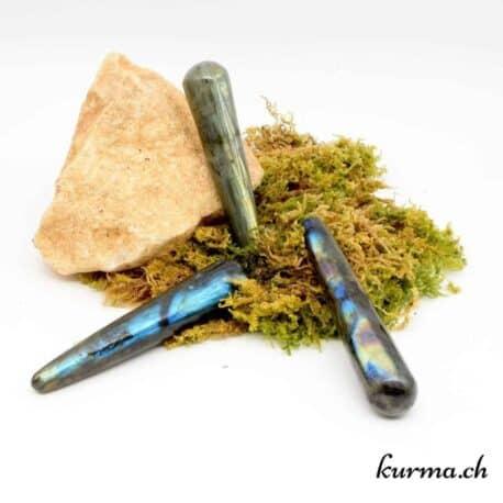 Bâton de massage Labradorite