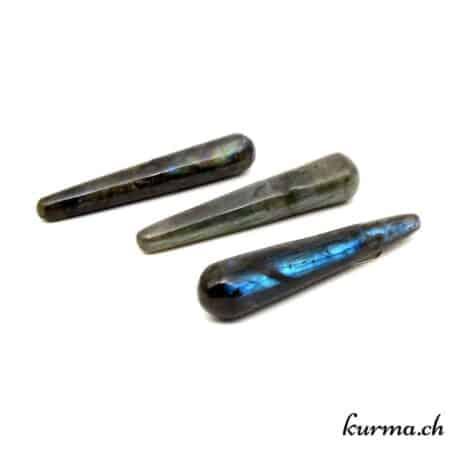 acheter un bâton de massage en labradorite dans la boutique en ligne kurma. vente aux particuliers, thérapeute et au entreprise