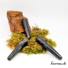 Bâton de massage Tourmaline noire