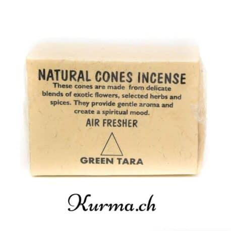 Vente en ligne d'encens naturels en cône provenant du Népal. Fabriqué avec des recettes traditionnelles tibétaines, ces encens peuvent être utilisés pour des purifications et des cérémonies. Aussi disponible dans la boutique de Fontainemelon.