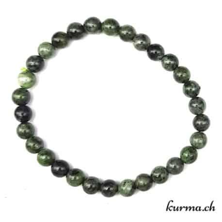 bracelet perles  diopside bijou homme femme gourmette ornement décoration vente suisse magasin