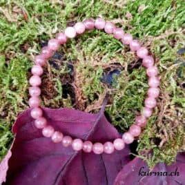 rhodochrosite bracelet perles