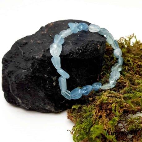 Bracelet Aigue-marine lithothérapie