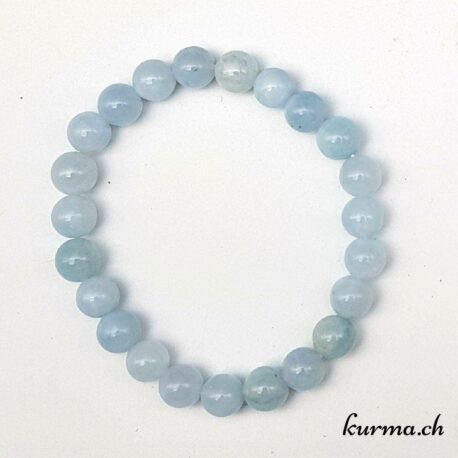 aigue marine perles bracelet femme parure élégance