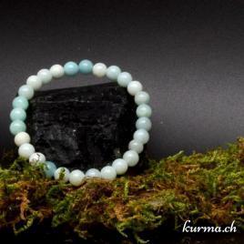 Bracelet Amazonite 6mm